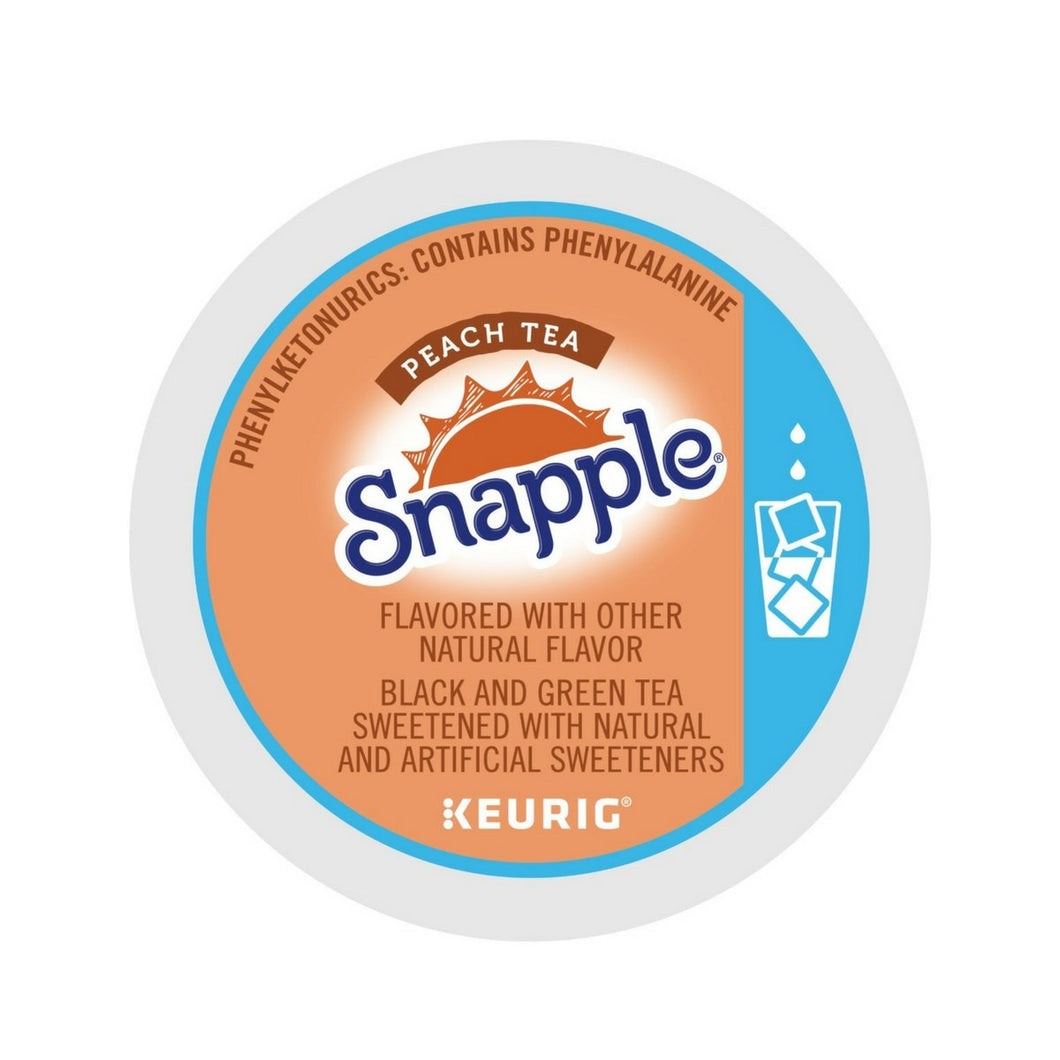Snapple Peach Tea Iced K-Cups 22ct