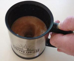 Coffee For Less Battery Operated Mixer Coffee Mug