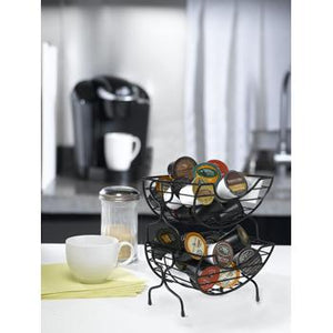 Stacking Coffee Baskets K-Cup Accessory with Background