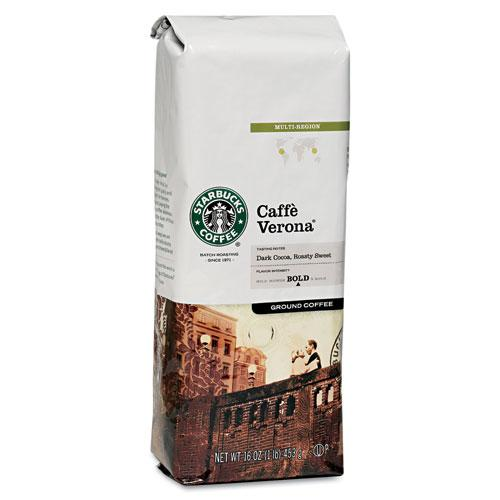 Starbuck's Coffee Caffe Verona 1lb Bag Ground