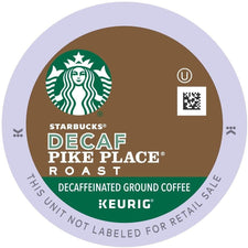 Starbucks Decaf Pike Place K-Cups 24ct Expired