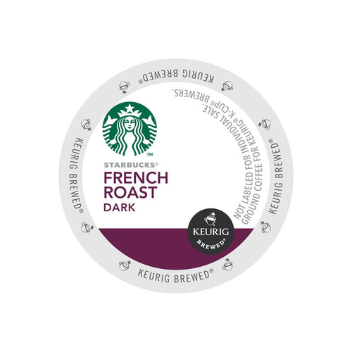 Starbucks French Roast K-Cups 24ct - Short Dated