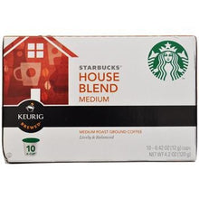 Starbucks House Blend K-Cups 10ct Box right side