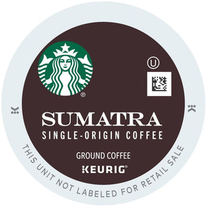 Starbucks Sumatra K-cup Pods 24ct - Short Dated