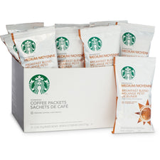 Starbucks Breakfast Blend Ground Coffee 18 2.5oz Bag