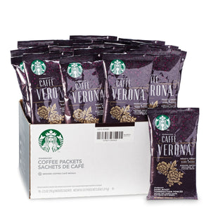 Starbucks Caffe Verona Ground Coffee 18 2.5oz Bags