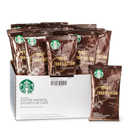 Starbucks French Roast Ground Coffee 18 2.5oz Bags