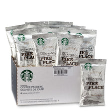 Starbucks Decaf Pike Place Ground Coffee 18 2.5oz Bags