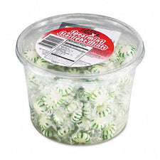 Starlight Mints Individually Wrapped Spearmint Hard Candy 2lb Tub