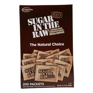 Sugar in the Raw 200ct Front Box