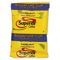 Superior Hazelnut Ground Coffee 24 1.5oz Packets