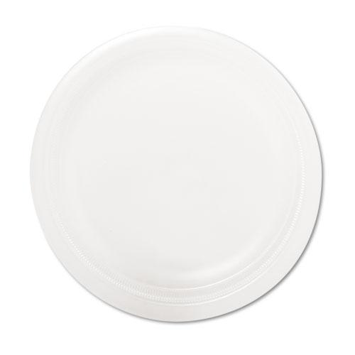 Sweetheart White Medium Weight 9 Inch Styrofoam Plates 500ct