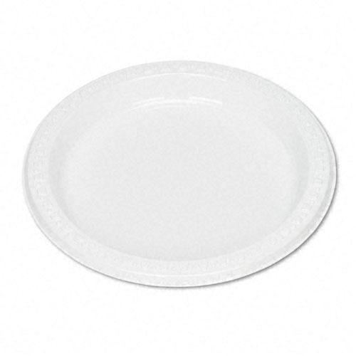 Tablemate White 7 Inch Plastic Plates 125ct