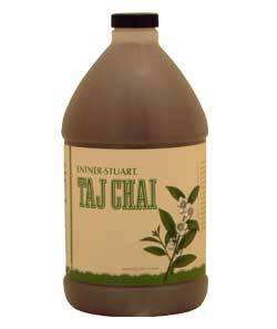 Entner-Stuart Taj Chai Concentrate 6 1/2 Gallon Bottles