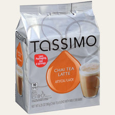 Twinings Chai Tea Latte Tassimo T-Discs 8ct