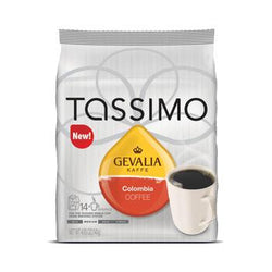 Tassimo Gevalia Colombia Coffee Pods 14ct