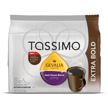 Tassimo Gevalia Dark House Blend Coffee Pods 12ct