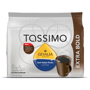 Tassimo Gevalia Dark Italian Roast Coffee Pods 12ct