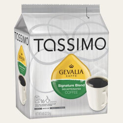 Gevalia Signature Blend Decaffeinated Tassimo T-Discs Coffee 16ct