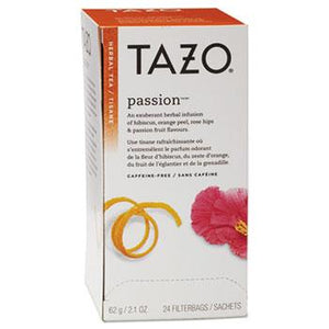 Tazo Passion Herbal Tea 24ct Box
