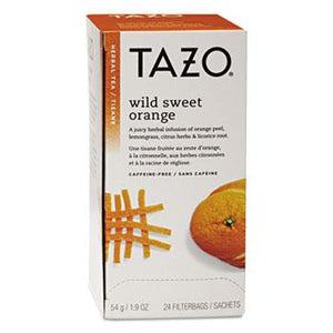 Tazo Wild Sweet Orange Tea 24ct Box