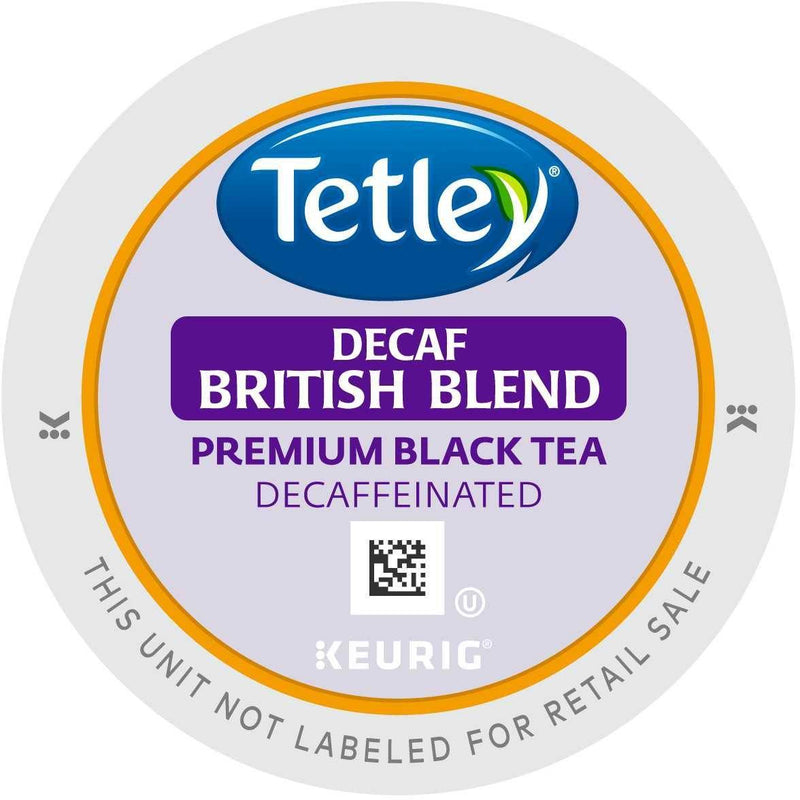 Tetley Tea British Blend Decaf K-cups 96ct