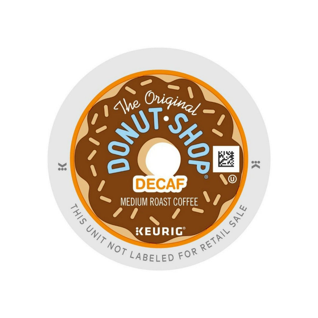 Coffee People Decaf Donut Shop K-Cups 22ct Medium | Expired