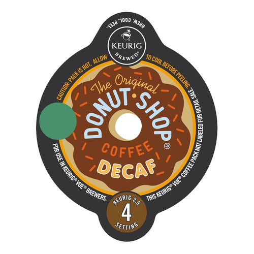 The Original Donut Shop Decaf Extra Bold Vue Packs 16ct