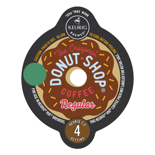 The Original Donut Shop Regular Extra Bold Coffee Vue Packs 16ct