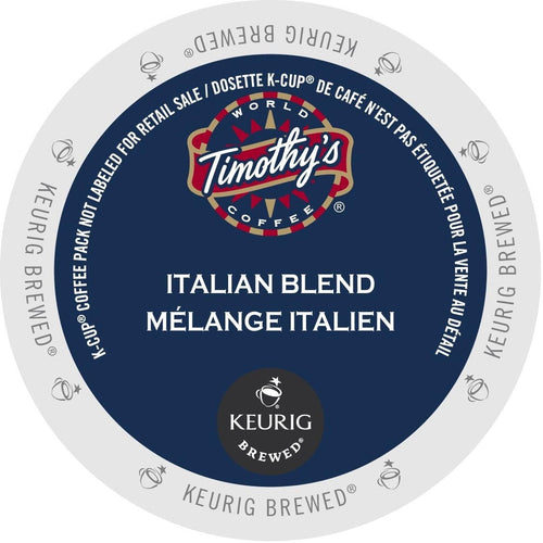 Timothy's Italian Blend K-Cup® Pods 24ct
