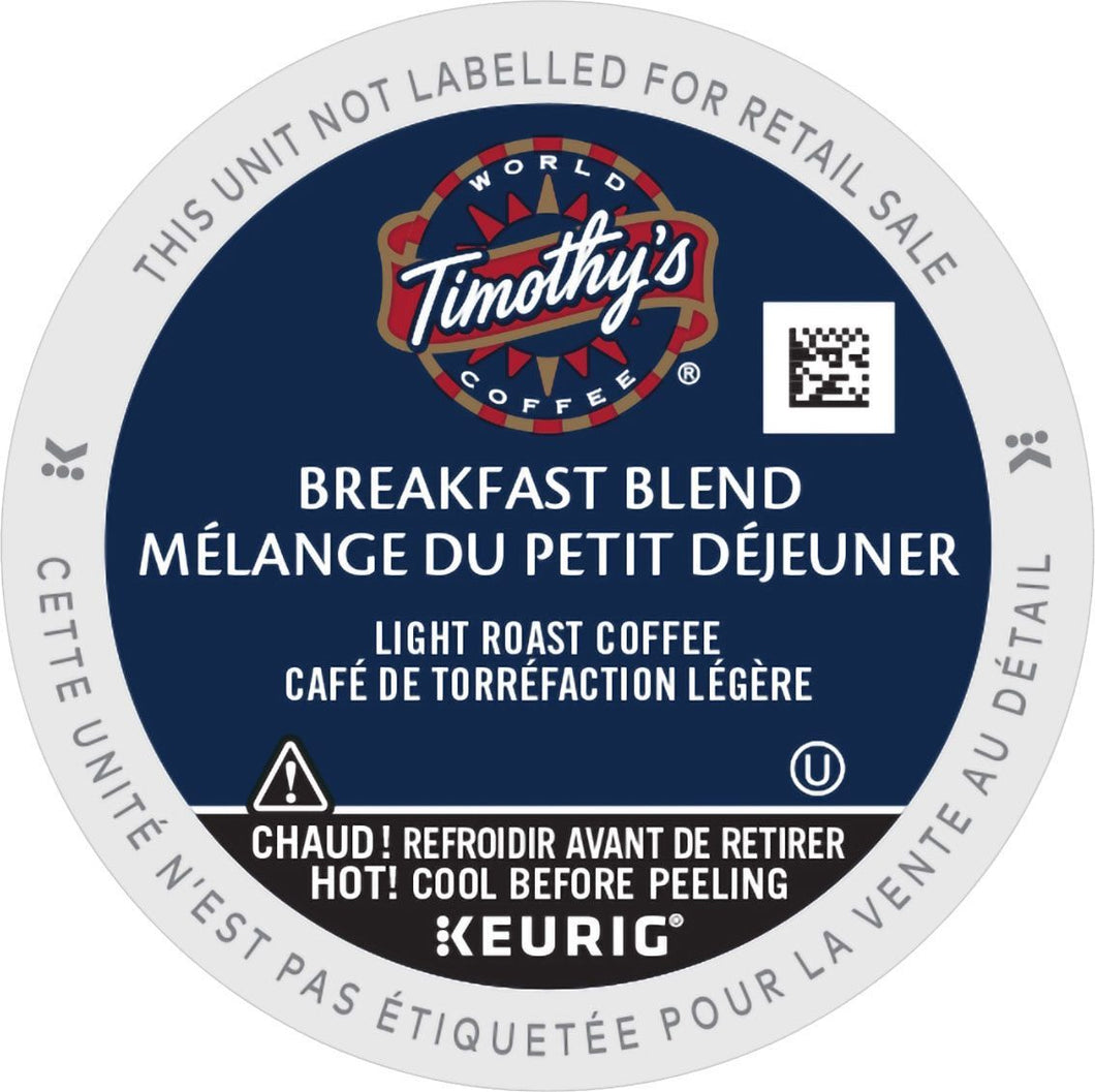 Timothy's Breakfast Blend K-Cup® Pods 24ct