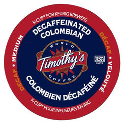 Timothy's Decaffeinated Colombian K-Cup® Pods 24ct