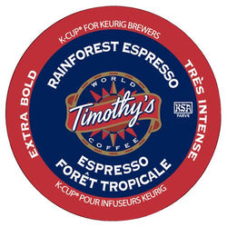 Timothy's Rainforest Espresso K-Cup® Pods 24ct