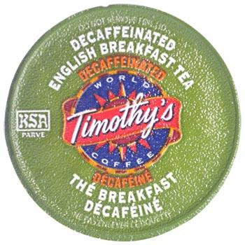 Timothys Coffee Decaf English Breakfast Tea K-Cup® Pods 24ct