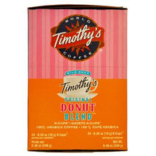 Timothys Coffee Original Donut Blend Coffee K-Cup® Pods 24ct