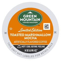 Green Mountain Coffee Toasted Marshmallow Mocha K-cup Pods 24ct