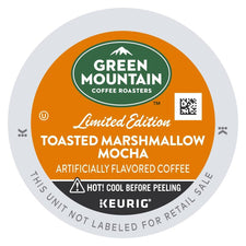 Green Mountain Coffee Toasted Marshmallow Mocha K-cup Pods 96ct