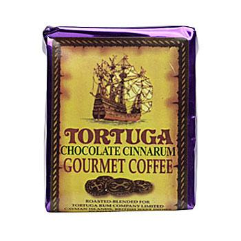 Tortuga Caribbean Chocolate Cinnarum Ground Coffee 12 8oz Bags