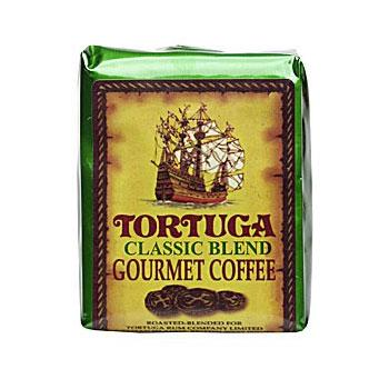 Tortuga Caribbean Classic Gourmet Blend Ground Coffee 6 8oz Bags