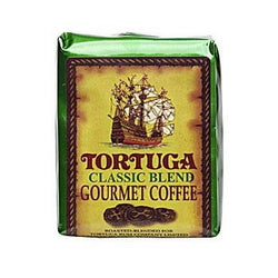 Tortuga Caribbean Classic Gourmet Blend Ground Coffee 8oz Bag