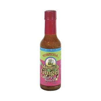 Tortuga Caribbean Mango and Ginger Stir Fry 6 5oz Bottles