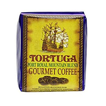 Tortuga Caribbean Port Royal Blue Mountian Ground Coffee 8oz Bag