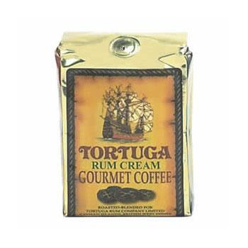 Tortuga Caribbean Rum Cream Gourmet Ground Coffee 8oz Bag