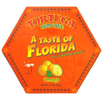 Tortuga Rum Cakes 16oz Florida Orange Rum Cake