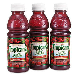 Tropicana Cranberry Juice 10oz Bottles 24ct Case