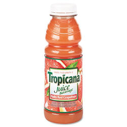 Tropicana Red Ruby Grapefruit Juice 10oz Bottles 24ct Case