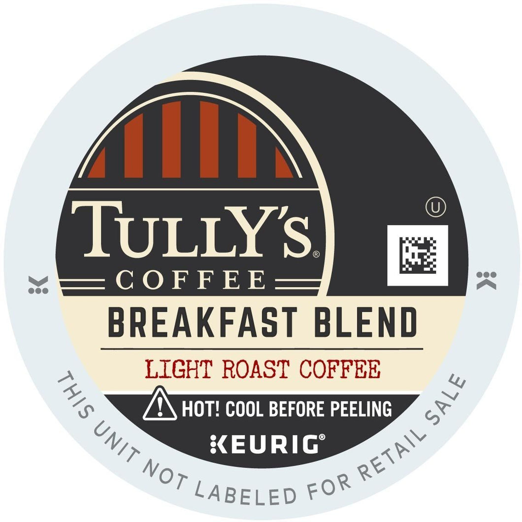 Tully's Breakfast Blend K-Cups 96ct