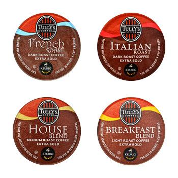 Tully's Coffee Coffeehouse House Collection K-Cup® Pods 22ct