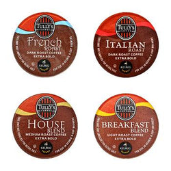 Tully's Coffee Coffeehouse Collection K-Cup® Pods 88ct