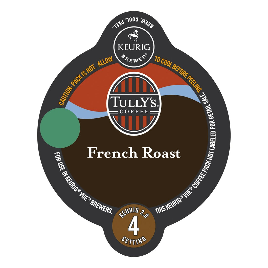 Tully's Coffee French Roast Vue Packs 16ct
